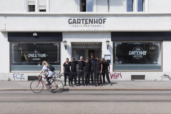 Kitchen Team - Gartenhof - Restaurant - Zuerich